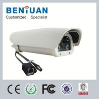 traffic control cameras High solution 700TVL White LEDs LPR IP cameras(For Parking lot)