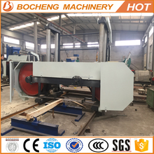 Large Size Horizontal Band Saw Machine For 250cm width heavy Logs