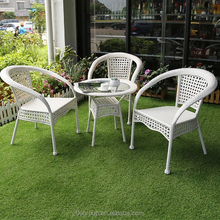 Factory Supplies Natural Handmade Wicker Garden Sofa Set/outdoor Rattan Furniture