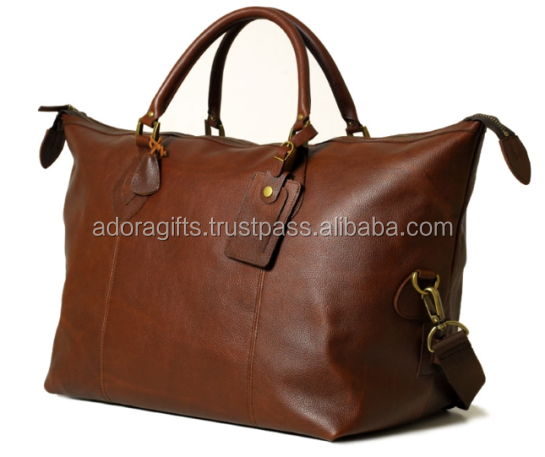 best selling travel leather bags on internet this year