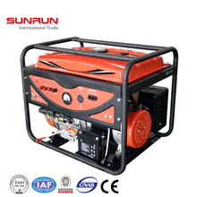 electric starting 400v air cooled 5kw gasoline generator