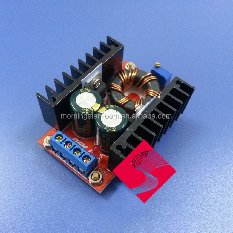 Accept Custom-made !!! 150W Boost Converter DC to DC 10-32V to 12-35V Step Up Voltage Charger Module