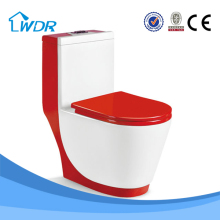 Quality sanitary porcelain one piece red toilets for sale