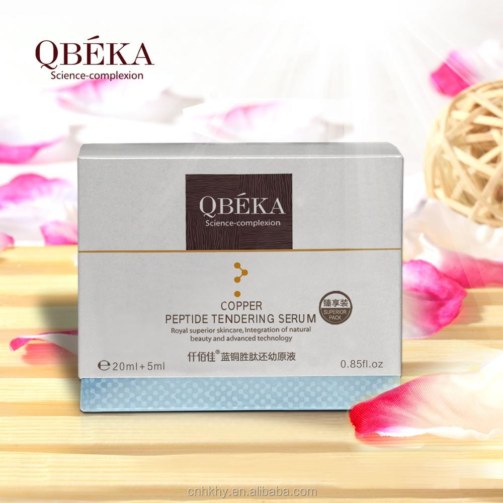 QBEKA a Sets of Copper Peptide Tendering Serum