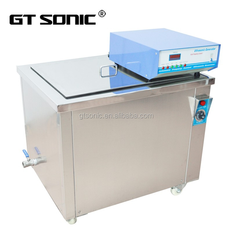 GT SONIC machinery industrial parts tools washer ultrasonic cleaning machine degas