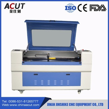 Rubber Stamp Wood Laser Engraving Machine Acrylic Co2 ACUT-6090