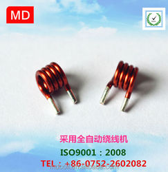 High precision stable air core coil for radio frequency