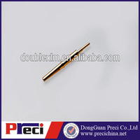 electrical brass gold plated contactor pins