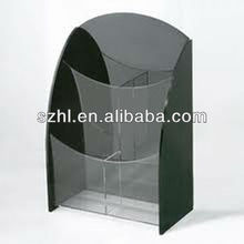 Clear acrylic a4 paper brochure holder