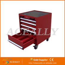 New metal steel storage rolling side tool box cabinet with drawers