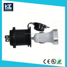 Motorcycle / Marine Waterproof 12V Accessory cigarrette power plug car connector