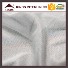 Best selling stretch fusible buckram knitting fabric woven interlining