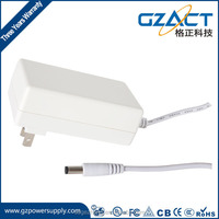 24v 2.5a dc power supply ac/dc 36w power adapter/transformer/inverter/led driver with 3years warranty