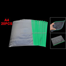 Document student pencil childproof ziplock cloth packaging case bag