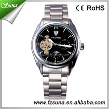 Cheap TEVISE Branded Advanced Technology Watch Mechanical Automatic Moon And Stars Showed Watch