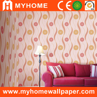 MGD681-2 recycled paper wall wallpaper for shop decoration