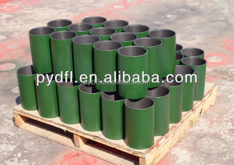 special clearance tubing couplings for export