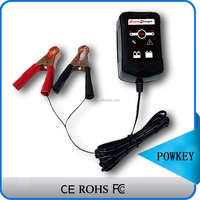 RoHS 6V 12V Automatic 3 stages Lead Acid Battery Charger