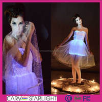 Led glow in the dark Dubai kaftan prom evening dresses