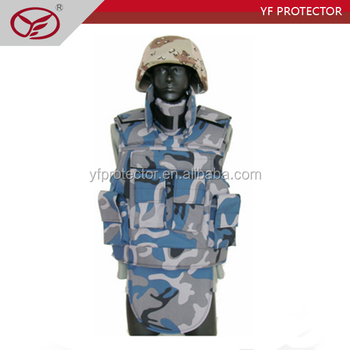 Aramid kevlar stab/stitch proof and bullet proof jacket