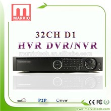 [Marvio HVR&DVR Series] dvrs 24 channel dvr wd1 resolution cctv dvr with great price