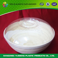 2015 novel design plastic bowl with handle