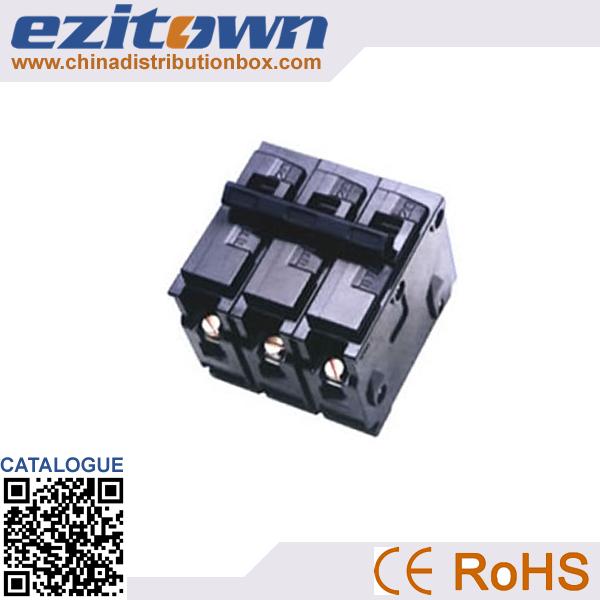 High quality black color miniature circuit breaker