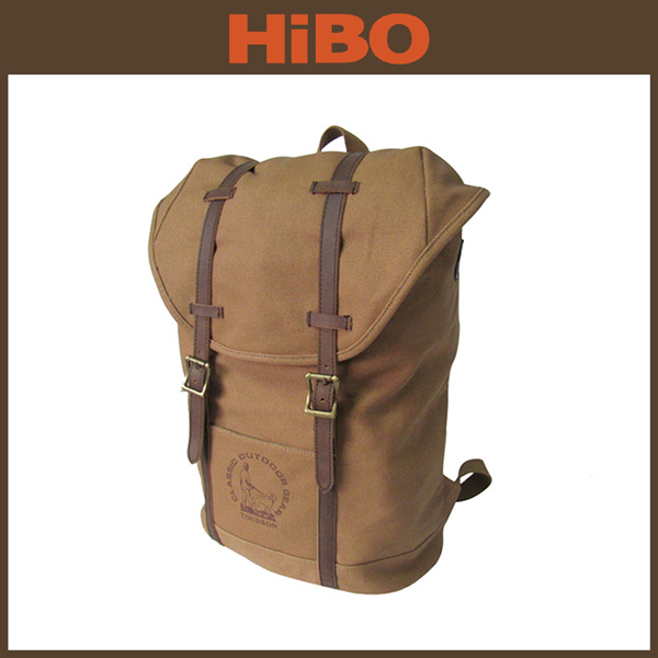 2015 Tourbon New Travelling Hiking Camping Weekend School Leisure Canvas Backpack