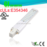 UL cUL CE RoHS approved G23 LED bulb with 100-277V Isolated driver