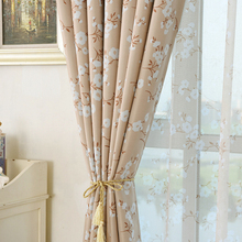 Modern office fabric width jacquard blackout curtain