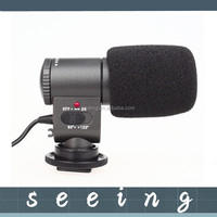 Camera Microphones SG-109 DV Stereo camera Microphone for DSLR DV Camcorder 7D 5DII 550D 60D 600D T3i