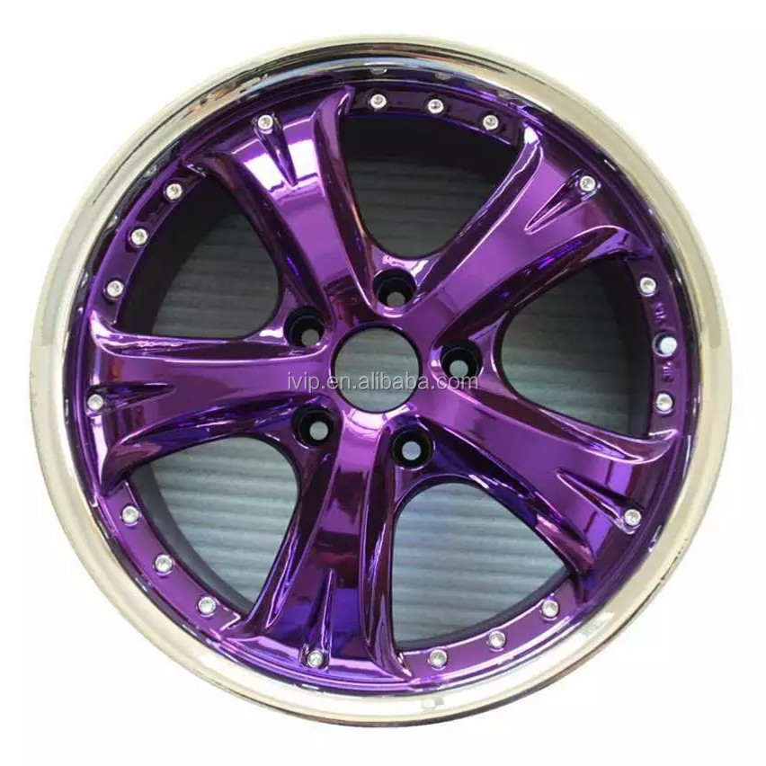 IVIP Nano Coating Car rim Spray Paint Chrome Processing