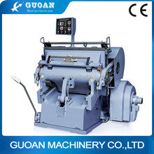 ML-1100JL series hot die cutting and creasing machine with heating plate