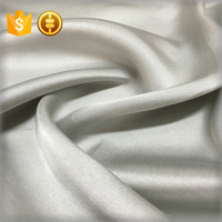 16mm pure silk fabric satin crepe heavy 100% pure satin silk wedding dress