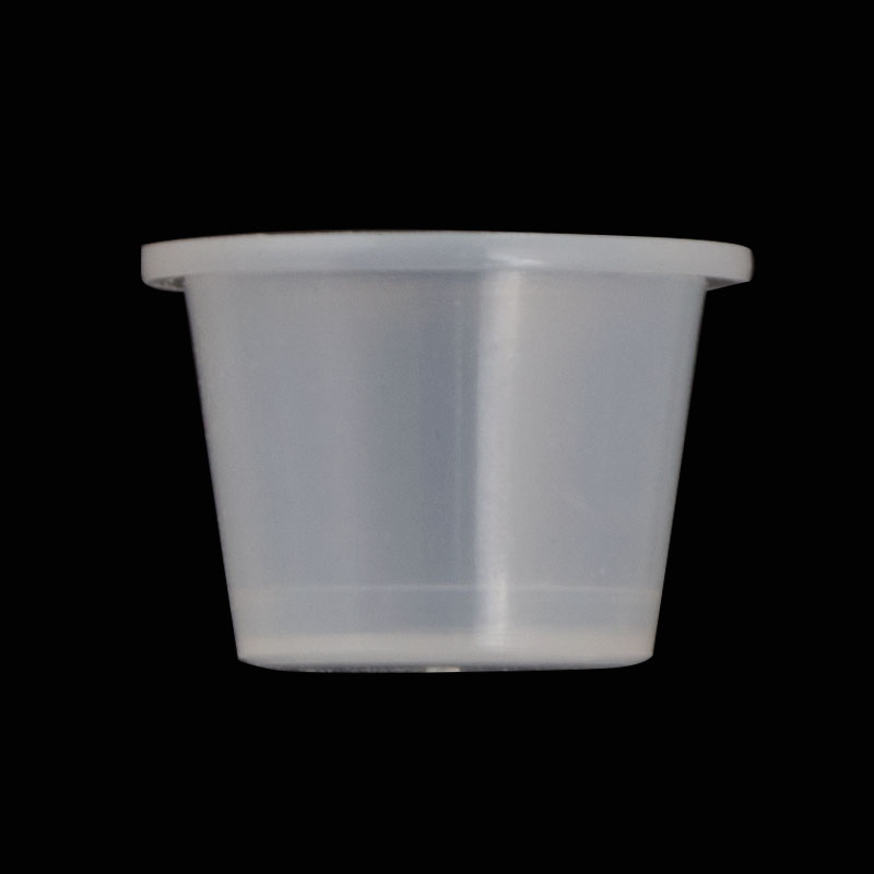 White Plastic Disposable Tattoo Ink Holder Cups Caps(Medium)
