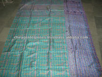 LAST MINUTE DEAL !! Vintage Kantha Silk Throws~At Highly Discounted Prices