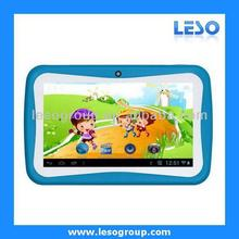 7 inch tablet pc for kids 4GB 512MB dual camera dual core AN7003K
