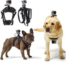 Go Pro Accessories Adjustable Dog Fetch Harness Chest Strap Belt Mount