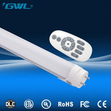 CE ETL ROHS approved remote control fast shipping 4 feet led tube light