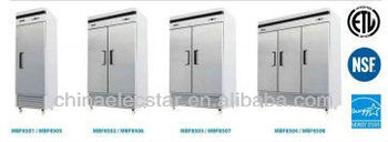 American style Reach-in kitchen Refrigerator, Conforms to UL/NSF and Energy Star .Made of Stainless Steel,American style