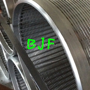 stainless steel wire mesh wedge wire screen for water well