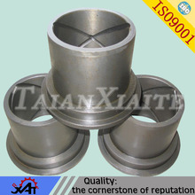 Alloy steel collar bushing forged steel parts CNC machining mining machinery parts