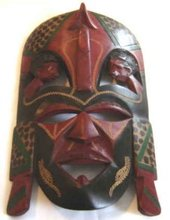 Masai Tribal Mask