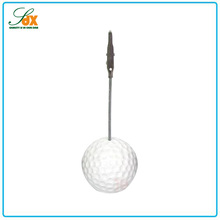 High quality best selling golf ball shape memo clip