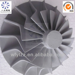 Aluminum alloy die casting used for garrett turbo