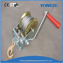 Good quality best sale worm gear mini rope winch