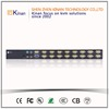 factory wholesale 1U rack mount USB PS2 16 port kvm switch