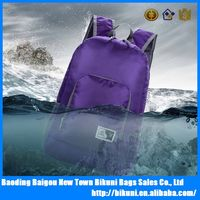 Lightweight 20L high quality outdoor sports traveling nylon waterproof Portable foldable day backpack bag