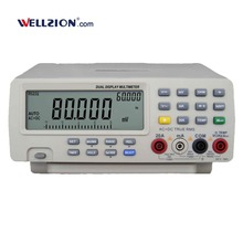 VC8145,80000 Digits True RMS bench type digital multimeter