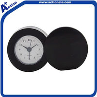 Travel Flip Analog Table Alarm Clock